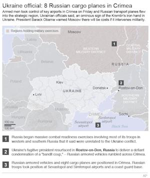 Map shows the Ukrainian Russian region with the latest…
