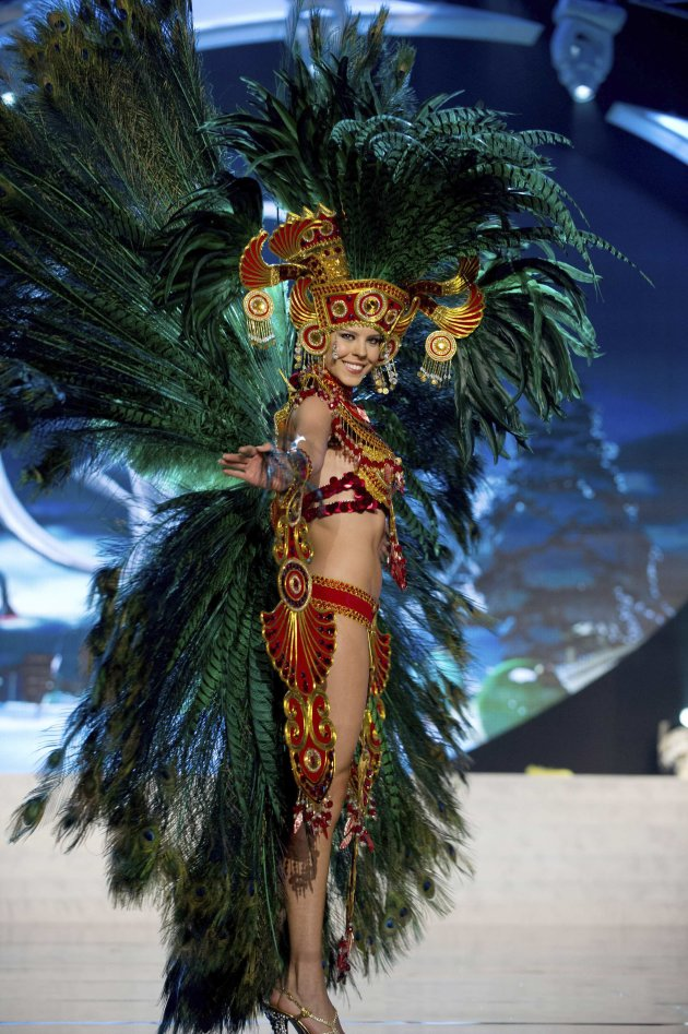 Miss Panama Werf performs onstage at the 2012 Miss Universe National Costume Show at PH Live in Las Vegas