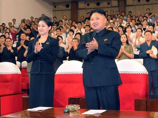 There is mounting speculation that Kim Jong Un has married the mystery woman to enhance his image as a stable leader