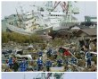 Combo photo shows a tsunami-devastated …