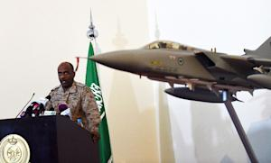 Saudi Brigadier General Ahmed Asiri, spokesman of the …