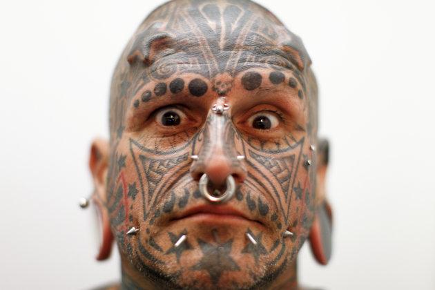 Extreme tattoo art