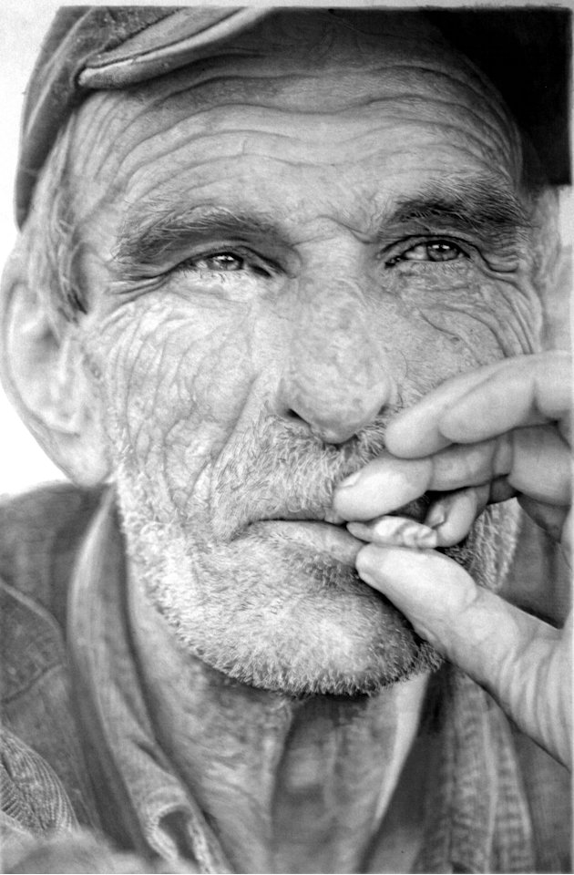 Gambar karya Paul Cadden yang berjudul 'NVA6' ((Paul Cadden / Solent News / Rex Features)
