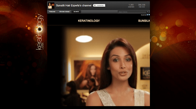 7 Creative Storytelling Campaigns To Promote Shampoos On Social Media image Sunsilk Hair Experts on YouTube