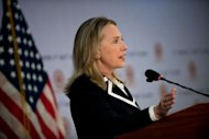 The United States is committed to helping ordinary Cambodians rather than funding vanity projects, US Secretary of State Hillary Clinton said Thursday, in a subtle dig at China-backed schemes in the country
