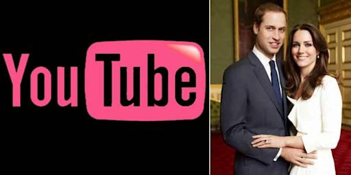 YouTube Siaran Langsung Pernikahan William-Kate