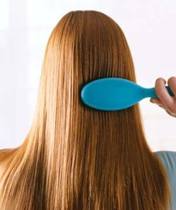 Myth 11: Brushing your hair 100 strokes a day will make it shine.