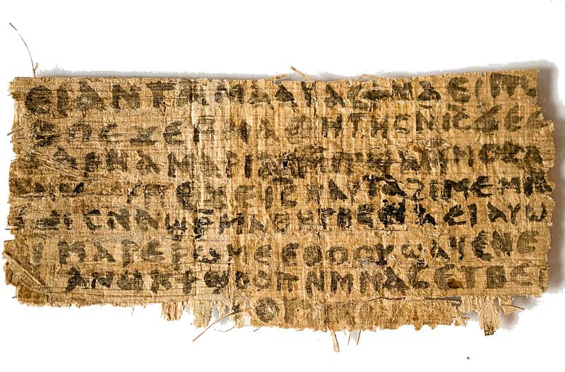 Gospel of Jesus's Wife (Wikimedia Commons)