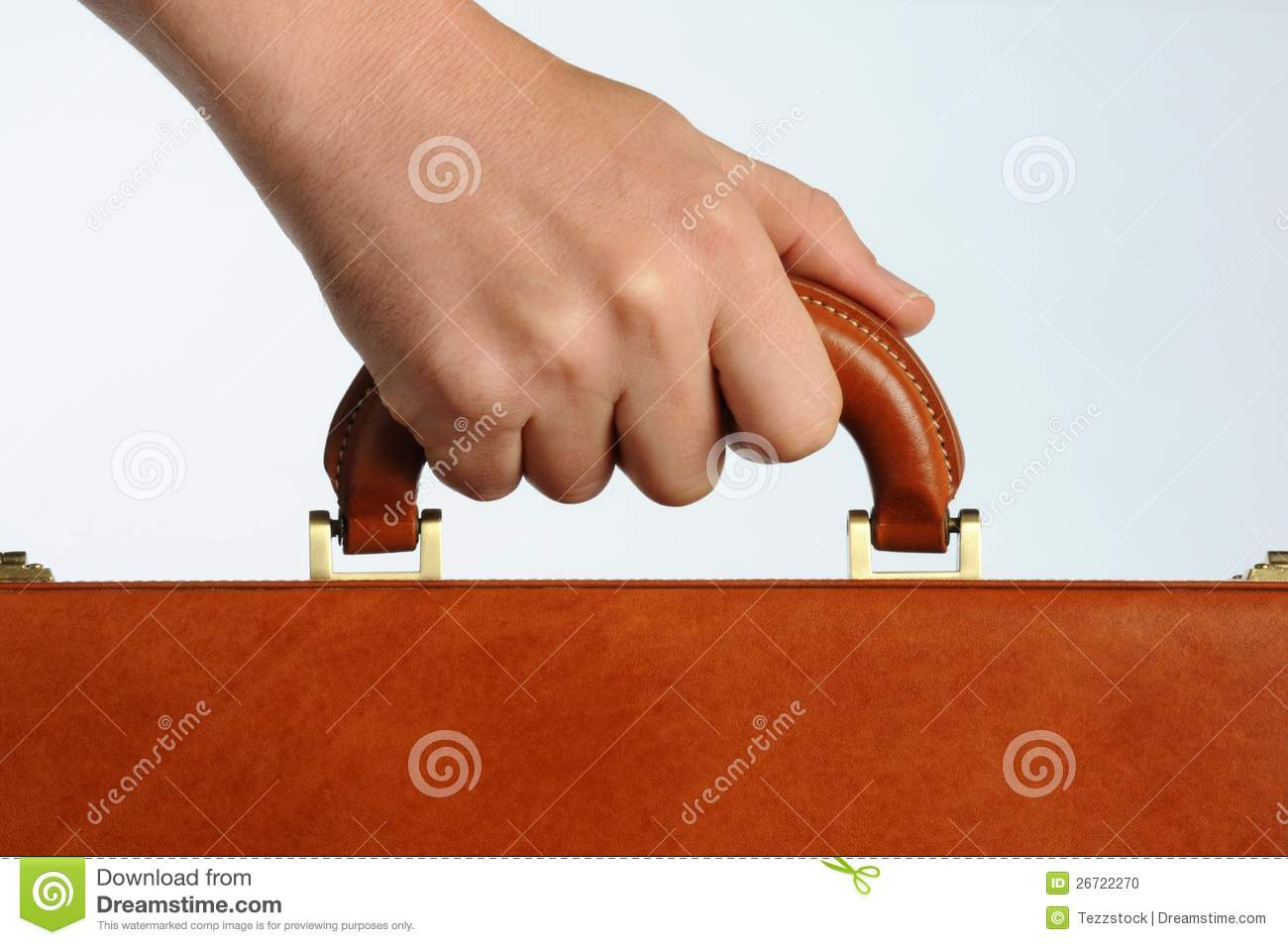 Hand Holding Handle Stock Photo - Image: 26722270