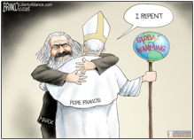 The Pope, climate change and VW