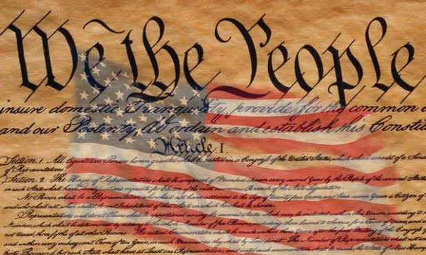 US Flag and Constitution of the United States of America « Wade ...