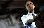 Obama cranked up his re-election bid in the swing state of Colorado