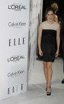 Honoree Emma Watson arrives at the 19th Annual ELLE Women in Hollywood dinner in Beverly Hills