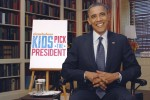 "Undated publicity photograph features U.S. President Barack Obama in a ""Nick News with Linda Ellerbee"" segment titled ""Kids Pick The President"" on the Nickelodeon cable channel"