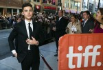 """Actor Efron arrives for the gala presentation of """"The Paperboy"""" during the Toronto International Film Festival"""