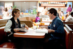 """This image released by Summit Entertainment shows Emma Watson, left, and Logan Lerman in a scene from """"The Perks of Being a Wallflower."""" (AP Photo/Summit Entertainment, John Bramley)"""