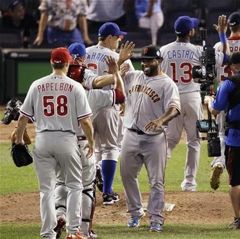 Giant blowout: NL routs AL 8-0 in All-Star game