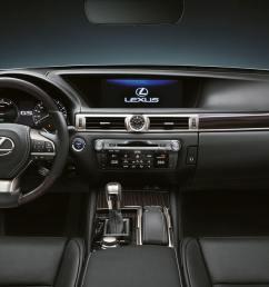 2017 lexus gs 450h experience hero interior front [ 2700 x 1080 Pixel ]