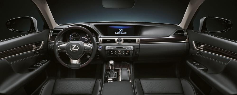 medium resolution of 2017 lexus gs 450h experience hero interior front