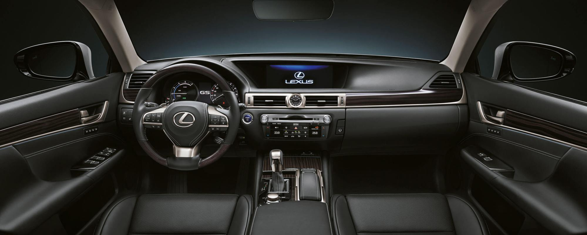 hight resolution of 2017 lexus gs 450h experience hero interior front
