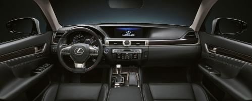 small resolution of 2017 lexus gs 450h experience hero interior front