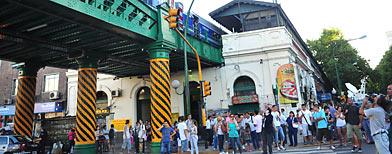 El accidente en el Ferrocarril San Martín dejó 8 heridos/ Télam