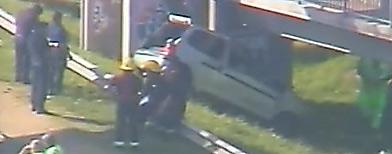 Imagen accidente de Panamericana / Captura de YouTube