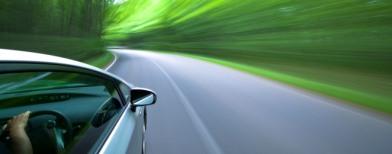 Car speeding (ThinkStock)