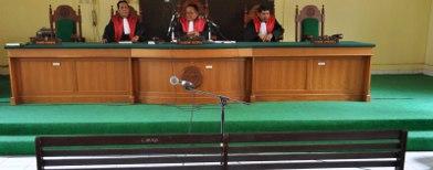 Ilustrasi hakim di persidangan. Foto: Tempo/Kink Kusuma Rein