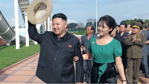 North Korea's First Lady Was Cheerleader, Ditches Drab Outfits