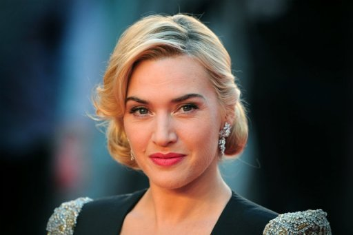 British actress Kate Winslet