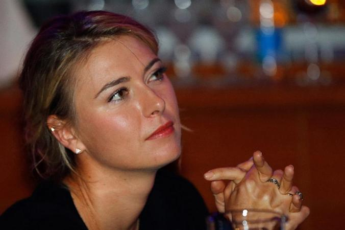 Tennis - Sharapova named in Russian Fed Cup team, stays on road to Rio