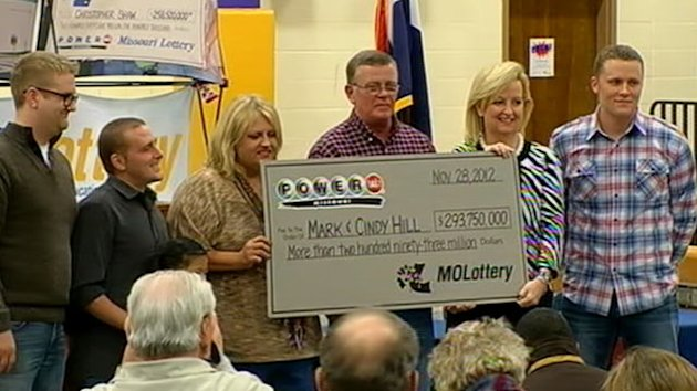 Mo. Couple Wins Half of Powerball Jackpot (ABC News)