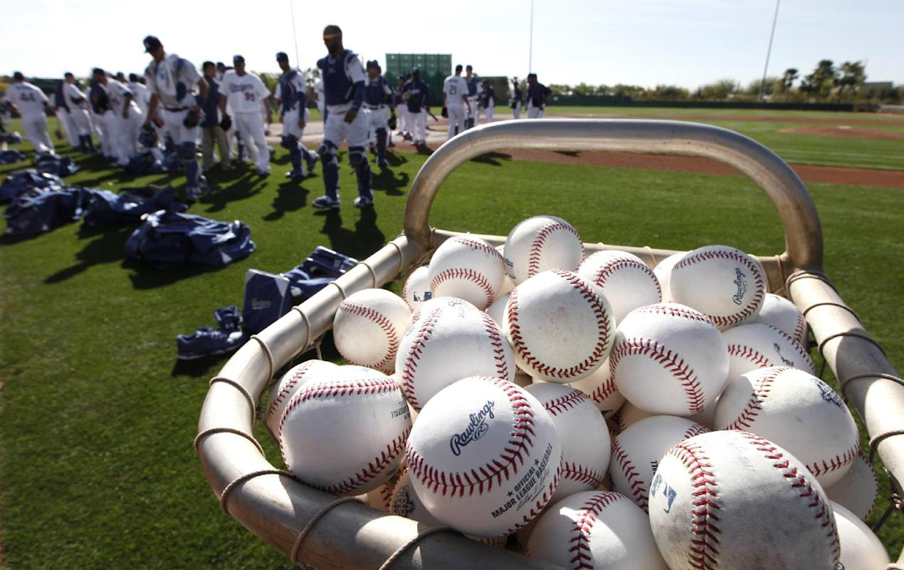 Sights of baseball's spring training