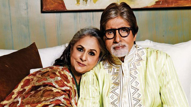 Jaya and Amitabh Bachchan