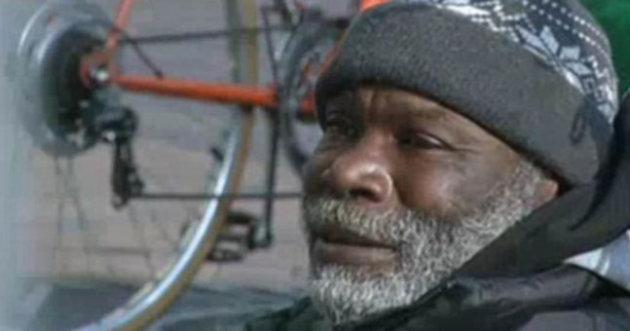 Homeless: Billy Ray Harris's good deed has earned him over $150,000 (KCTV 5)
