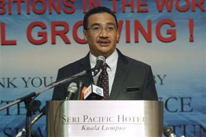 Malaysia's Defence Minister and acting Transport…