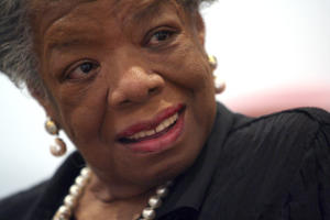 (File) Maya Angelou Speaks on Receipt of Presidential …
