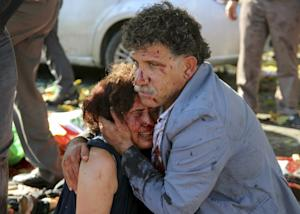 Deadly attacks at peace rally in Turkey