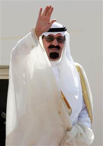 Quốc vương Ả-rập Xê-út Abdullah…