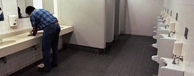 Toilet pria (Foto: AFP)