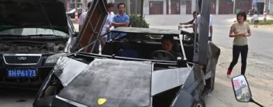 Lamborghini rakitan (Foto: Reuters/STAFF)