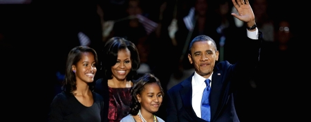 Barack Obama is re-elected president. (AP)