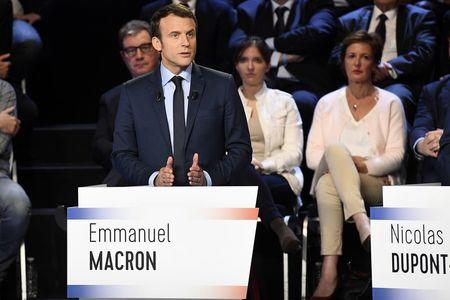 Image result for candidates for french president 2017 emmanuel macron