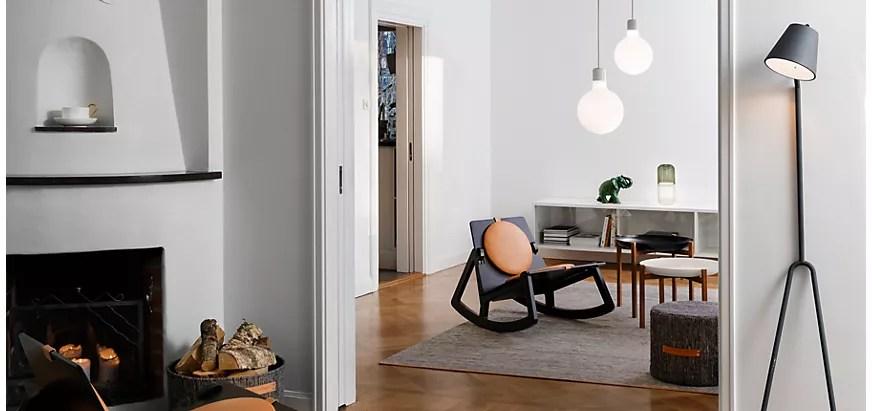 lampenschirm grau danish skandi skandinavisch lampe schirm