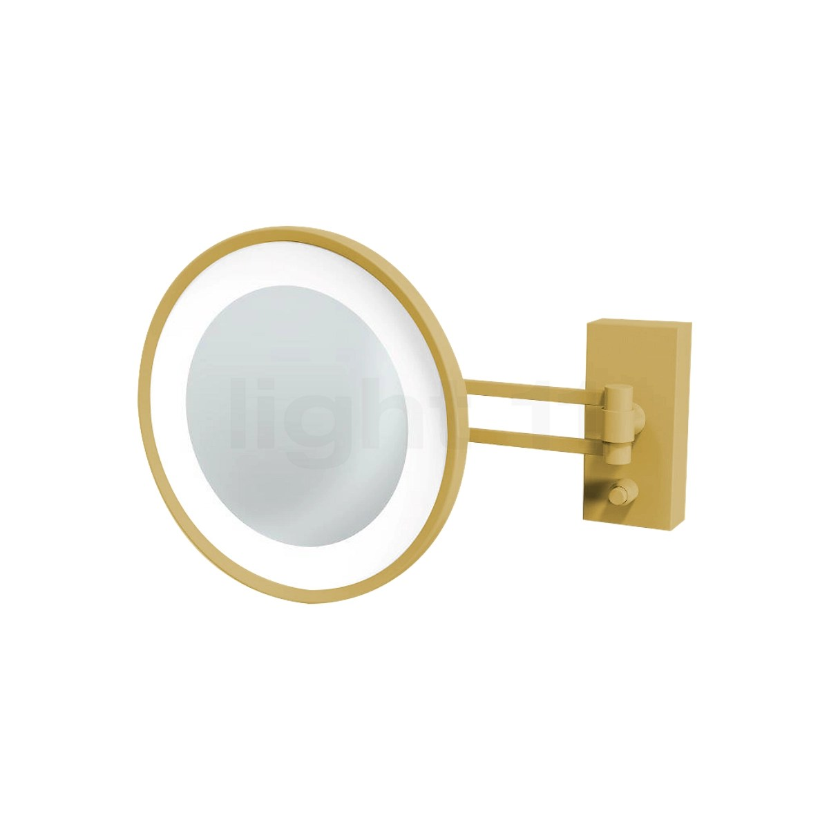 decor walther bs 36 wall mounted cosmetic mirror led