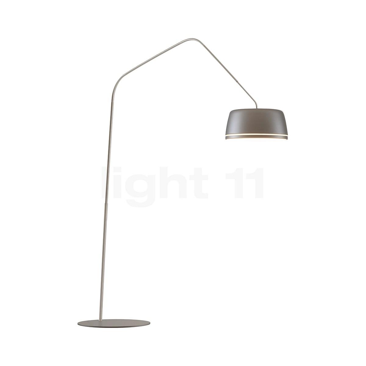 serien lighting central lampadaire arc led avec variateur rotatif