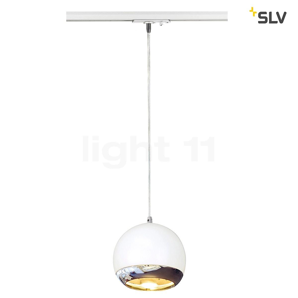 slv light eye pendant light for high voltage monorail systems