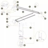 Buy Artemide Spare parts for Tizio Plus at light11.eu