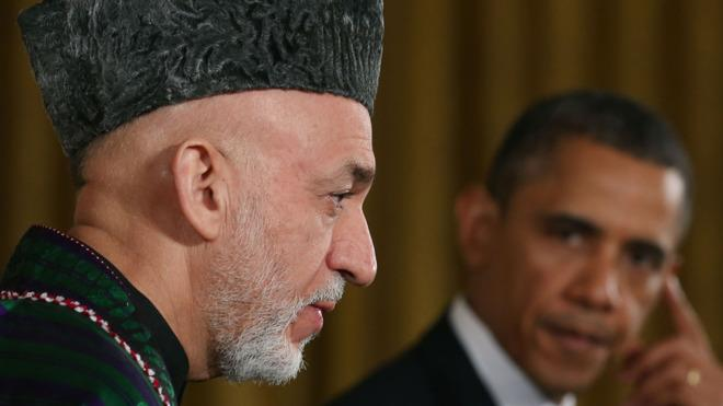 Come on, Karzai.
